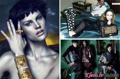Versace, Etro un Jimmy Choo (rudens - ziema 2011-12)