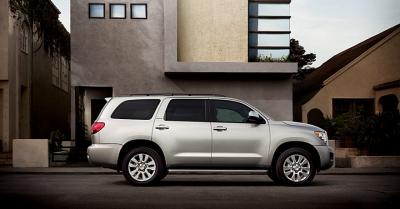 Toyota Sequoia - lieliskā mašīna!