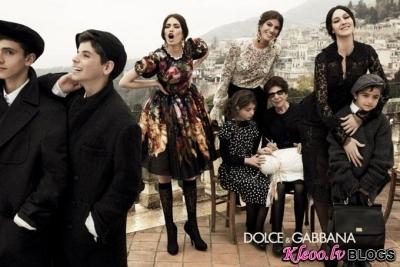 Dolce & Gabbana rudens 2012 .