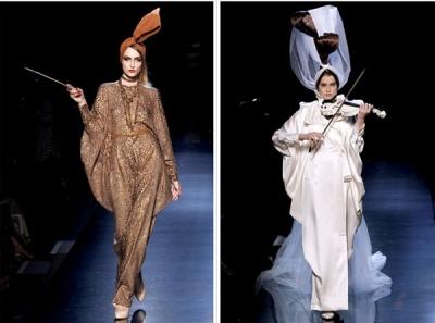 Jean Paul Gaultier Augstās modes nedēļā Parīzē