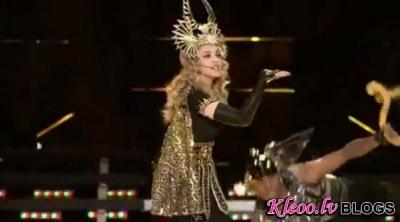 Madonnas uzstāšanās Super Bowl.