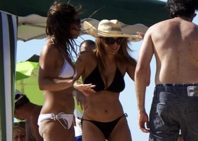 Ферджи на пляже в Бразилии