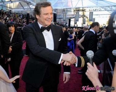 Uz sarkanā paklāja:Oskars 2011.