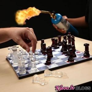 Шахматы изо льда