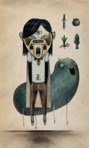 Ilustrators Raymond Lemstra.