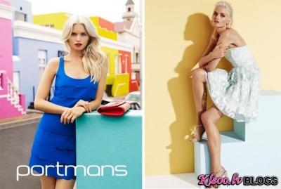 Brenda Portmans  reklāmas kampaņa.