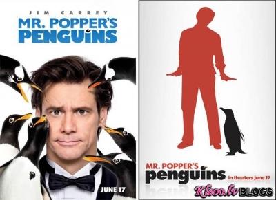 Mistera Poppera pingvīni.