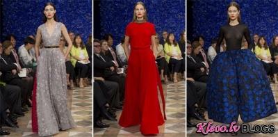 Paris Haute Couture Fashion Week: Christian Dior rudens - ziema 2012-2013 .
