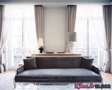 Kā dekorēt telpas dzīvoklī ar baltām sienām.
