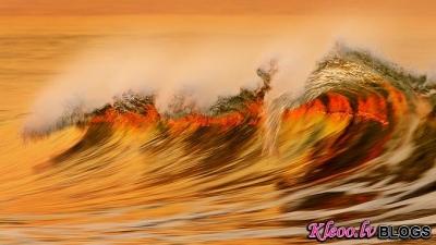 David Orias viļņi.
