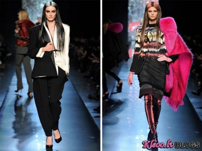 Paris Fashion Week: Jean Paul Gaultier Fall 2012 .