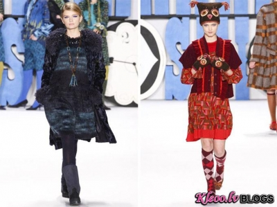 New York Fashion Week: Anna Sui rudens 2012 .