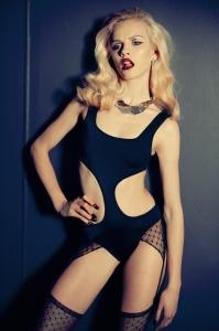 Латвийская модель Гинта Лапиня для Exit Magazine 2010