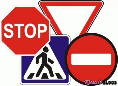 Ceļa zīmes = ko tās reāli nozīmē