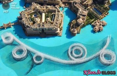 Самый большой музыкальный фонтан в мире