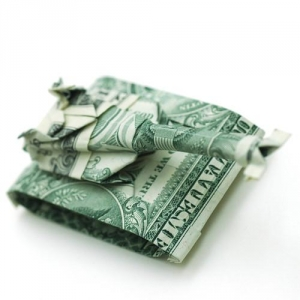 Moneygami = dolāru origami no Won Park