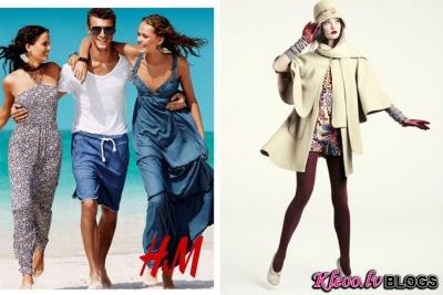 H&M  fotosesijās.