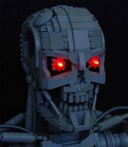 Терминатор из Lego