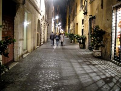 Romas ieliņa vakarā