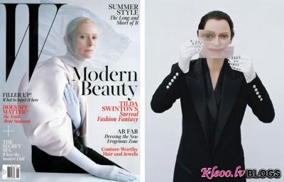 Fotosesija žurnālā W Magazine.