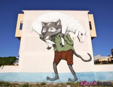 Mākslinieks Erica Il Cane no Itālijas.