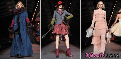 Modes nedēļa Parīzē: Christian Dior Fall/Winter 2012