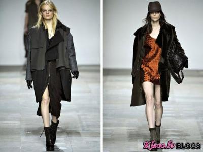 London Fashion Week: Topshop Unique rudens 2012 .