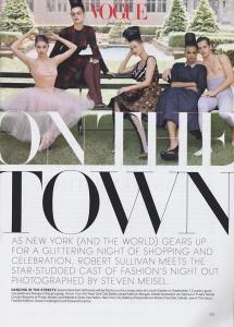 Kolektīvais foto priekš Vogue