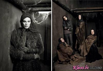 Vecumdienas kopā ar Vogue Italia .