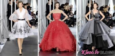Dior (pavasaris 2012 Couture) no Parīzes.