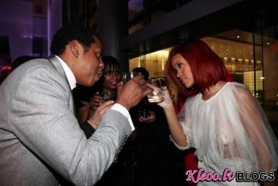 "Rihanna – ""Two Kings"" afterpārtijs"