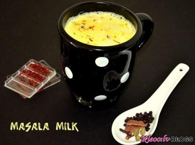 Молоко со специями