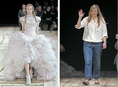 Paris Fashion Week: Alexander McQueen Pavasaris 2011