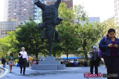 Ziloņa skulptūra.