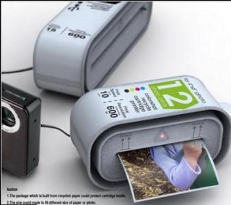 Одноразовый принтер для фотоаппарата