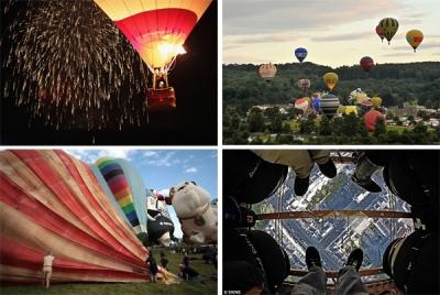Gaisa balonu festivāls Bristolē