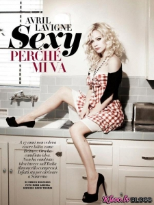 Avril Lavigne – Vanity Fair Itālijas žurnālā (Februāris 2011)