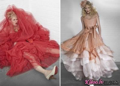 Vivienne Westwood kāzu kleitu kolekcija.