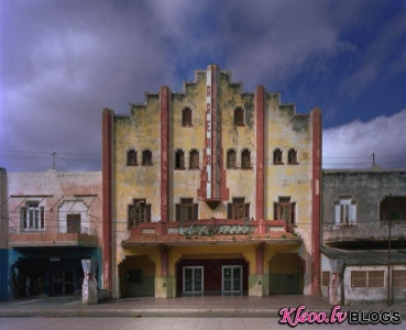 Havannas fasādes Michael Eastman fotogrāfijās.
