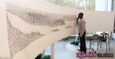 Искусство в себе: рисунки аутистов