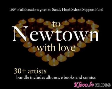 Newtown traģēdijas upuru ģimeņu atbalsta akcija