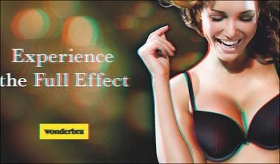 Wonderbra выпустила 3D-рекламу