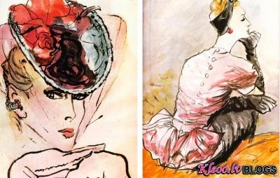 Carl Erickson modes ilustrācijas.