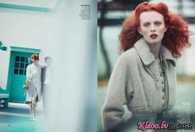 Vogue US oktobrī.