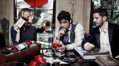 Benicio Del Toro. Campari The Red Affair 2011