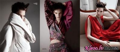 H&M un Maison Martin Margiela žurnālā Elle Mexico .
