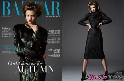 Gucci maģija Harper's Bazaar Korea .