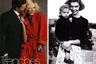 Fotosesijas (februāris 2011) Vogue US.