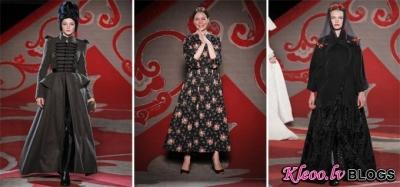 Paris Haute Couture Fashion Week: Ulyana Sergeenko couture rudens - ziema 2012-2013 .