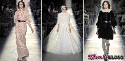 Paris Haute Couture Fashion Week: Chanel rudens 2012 Couture .